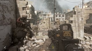 Very Epic City Combat from Nostalgic fps Game Call of Duty Modern Warfare Remastered