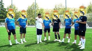 PARTIDILLO de FUTBOL con el REAL MADRID !!!