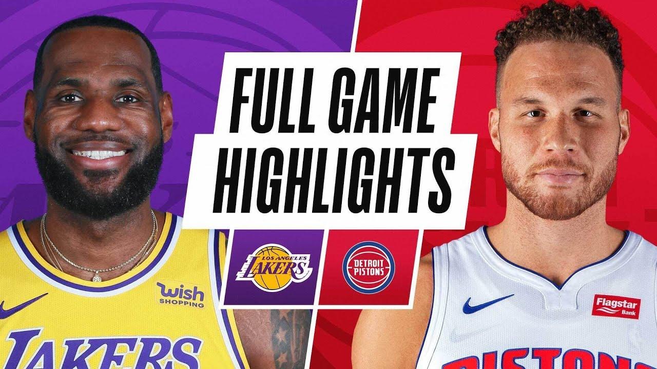Game Recap: Pistons 107, Lakers 92