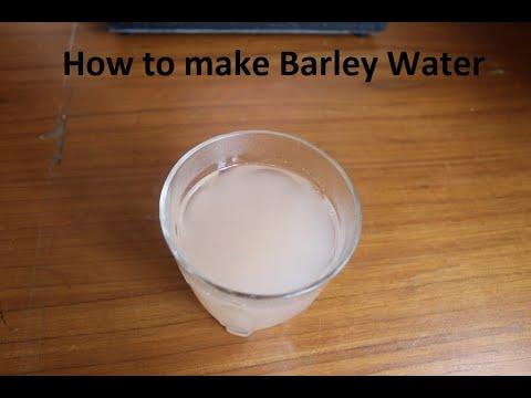 How to make Barley Water