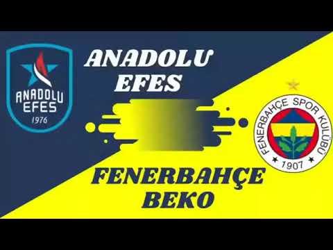 Anadolu Efes vs Fenerbahçe Final serisi @new@ Highlights