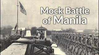 What's the Mock Battle of Manila?