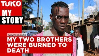 My two brothers were burned to death-Henry Madiga | Tuko TV