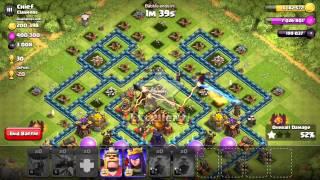 Attacco con solo draghi livello 5 Clash of Clans