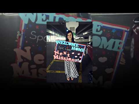 Military Homecoming Signs Ideas