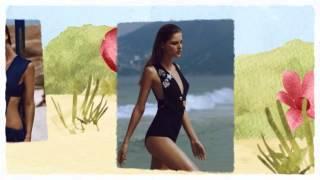 Майра Рубик в летней фотосессии для мексиканского Vogue