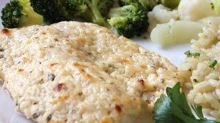 Food Recipes : Broiled Tilapia Parmesan