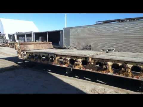 45f low boy trailer heavy loader