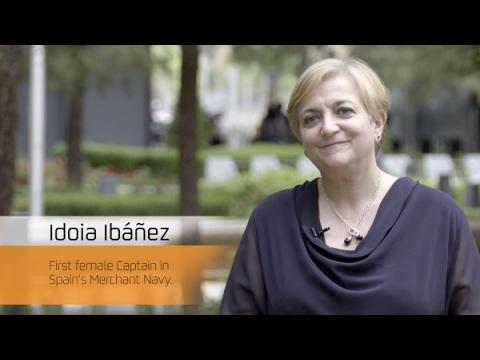 Idoia Ibáñez, first female Captain in Spain's Merchant Navy