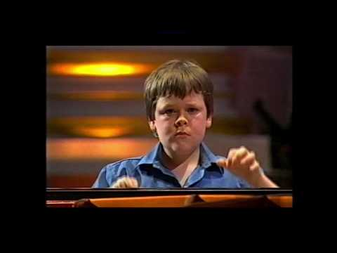 Young Musician final 2004 Ben Grosvenor plays Ravel