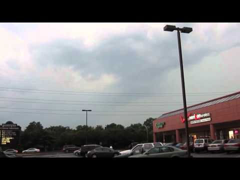 Severe thunderstorms strike Northern and Central Nassau County July 18, 2012