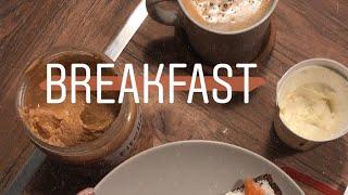 Мое утро вакуум зарядка уход за лицом и завтрак