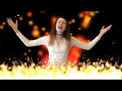 Sabrina Carpenter - Smoke and fire - cover by 17 year old - Clare Newman
