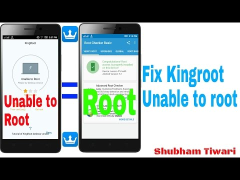 How To Fix Kingroot Unable To Root