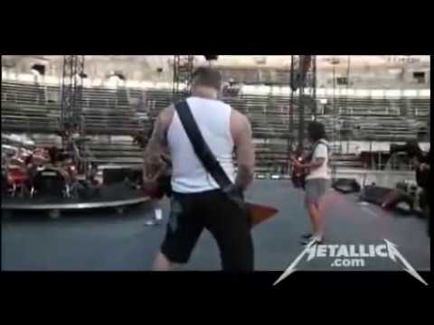 Metallica - Live Sound Check - Nimes, France (2009)