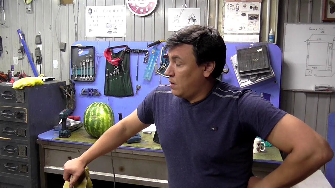 звук работы двигателя,солярис 1,6 15 тыс км пробег - YouTube