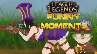 League Of Legends - funny moments(trolls,bugs,newbies,rofls)