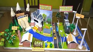 Making of Anti Pollution Model | Green City | Stop pollution