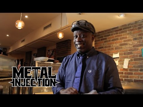 Taste Of Metal -  LIVING COLOUR's Corey Glover Makes Sushi!  | Metal Injection