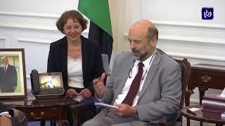 رئيس الوزراء يلتقي وزير الخارجية الفرنسي