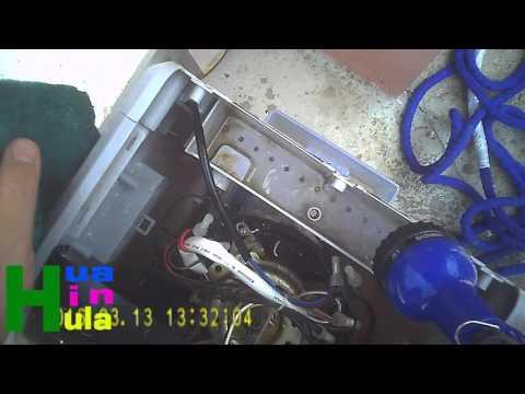 วิธีซ่อมพัดลมไอเย็น Mitsuta mec69 น้ำไม่ไหล พัดลมไม่หมุน