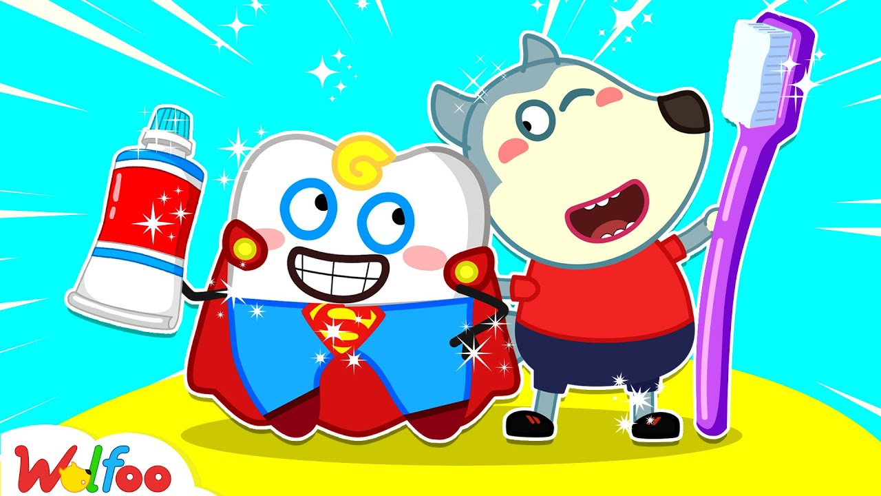 Wolfoo Learns to Brush Teeth with Supertooth - Wolfoo Learns Good Habits for Kids | Wolfoo Channel