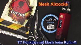 👎 Mesh Abzocke 😡 Vapoŗesso GEN 👍 TC Modus mit Kylin M 👍