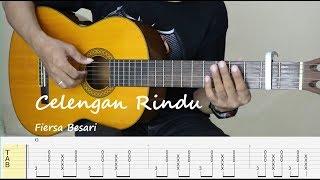 CELENGAN RINDU - Fiersa besari - Fingerstyle Guitar Tutorial (TAB)