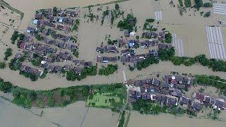 93 قتيلا على الأقل في فيضانات تضرب الصين