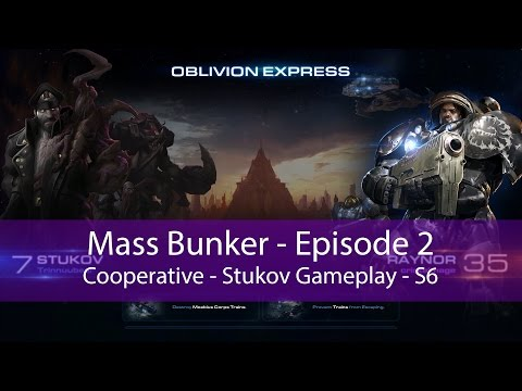 StarCraft II: Mass Bunker (Stukov Gameplay)