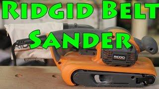 Ridgid R2740 Belt Sander