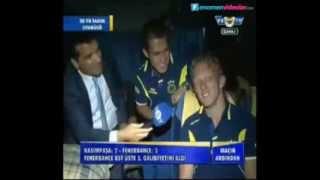 Dirk Kuyt ve Raul Meireles Türkçe Konuşuyor