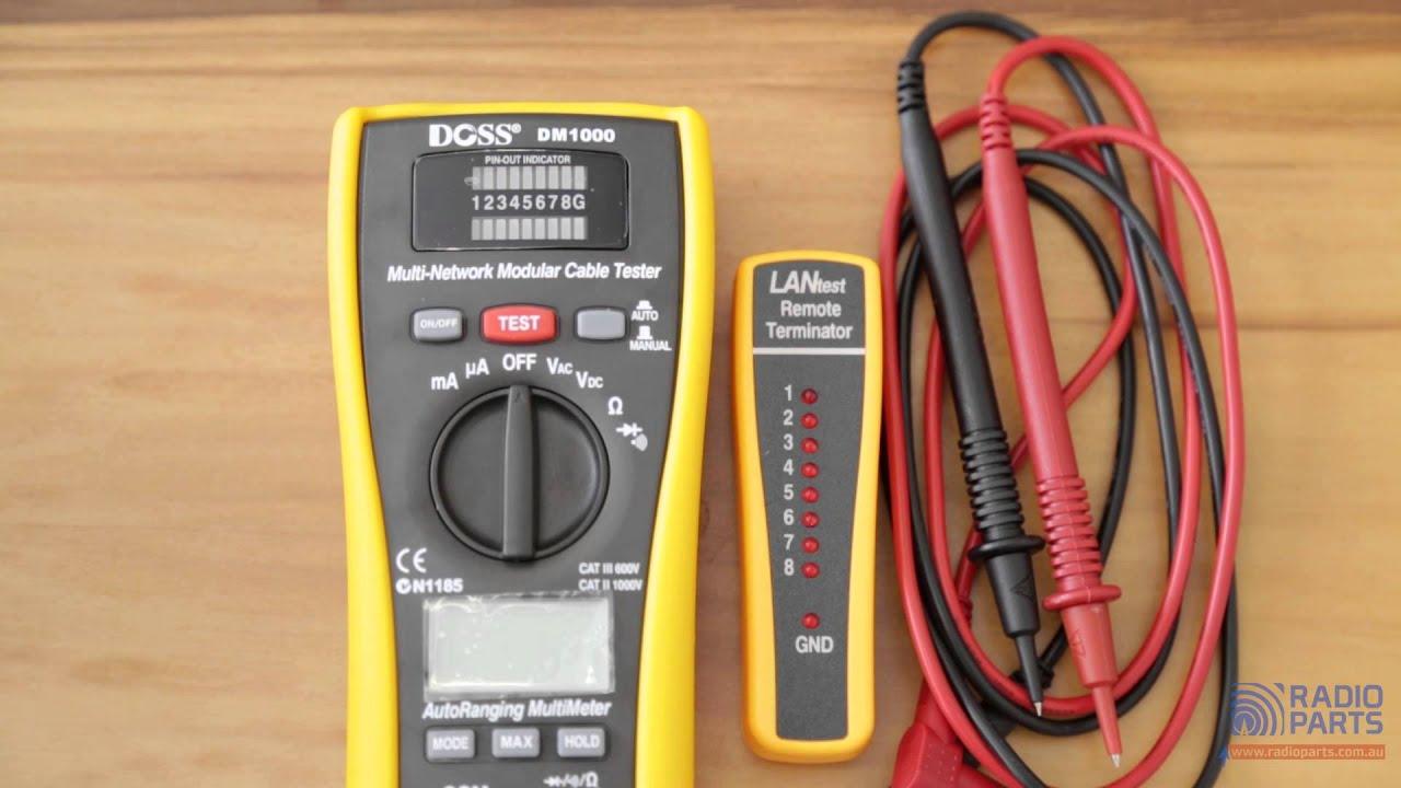 Pancontrol LAN Testeur et multim/ètre