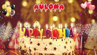 AULONA Birthday Song – Happy Birthday Aulona
