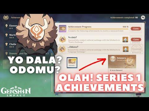 Yo Dala Poetry Exchange Communication Via Poetry Olah Series Achievement Genshin Impact Youtube