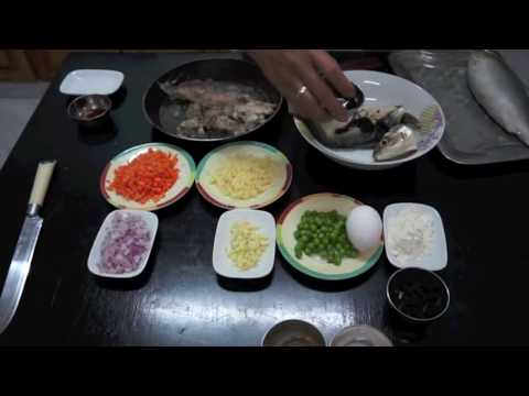 Paano magluto RELYENONG BANGUS  - Pinoy Filipino Stuffed Milk Fish Recipe