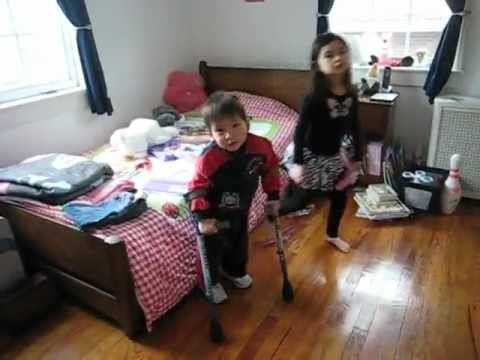 Brother stuck while sister try and help from YouTube · Duration:  1 minutes 27 seconds
