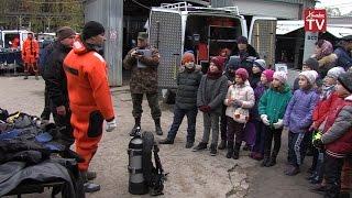 Химкинские спасатели провели открытый урок для школьников и кадетов