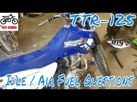 Idle Screw / Fuel Screw - TTR 125 Won't Idle - Understanding Locations