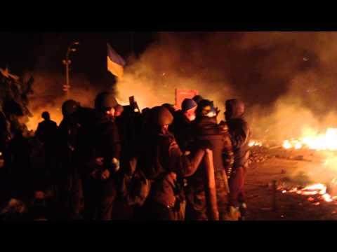Штурм Майдана Ночь  ...