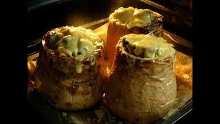 #паста   Паста с грибами в тыкве Оригинальное и очень вкусное блюдо!