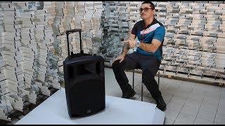 Unboxing Boxa activa portabila QTX Sound QX15PA