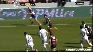 Tries in France 2011 2012 day 20 Toulouse - Castres
