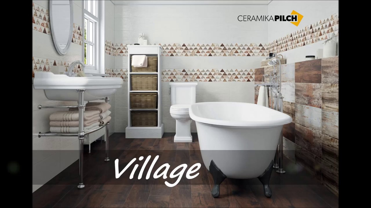 łazienka Rustykalna Village Ceramika Pilch