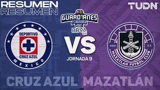 Resumen y goles | Cruz Azul vs Mazatlán | Torneo Guard1anes 2021 BBVA MX J9 | TUDN