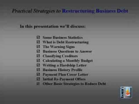 Strategies for how to Restructure Business Debt
