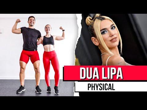 DUA LIPA – PHYSICAL I RUTINA de EJERCICIOS en CASA