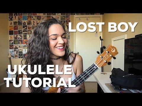 Lost Boy - Ukulele Tutorial | Andrea Valles