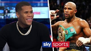 Devin Haney responds to Floyd Mayweather comparisons & discusses potential Vasyl Lomachenko fight