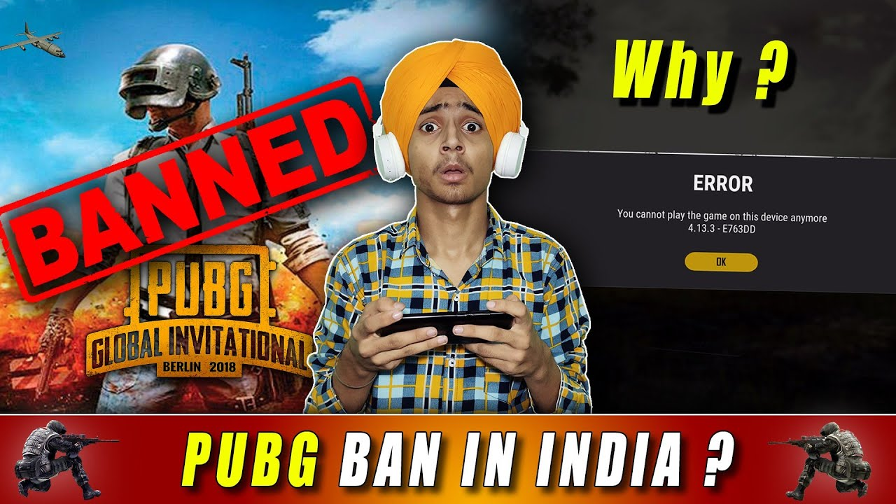 PUBG Ban in India🔥🔥| What is Reality?